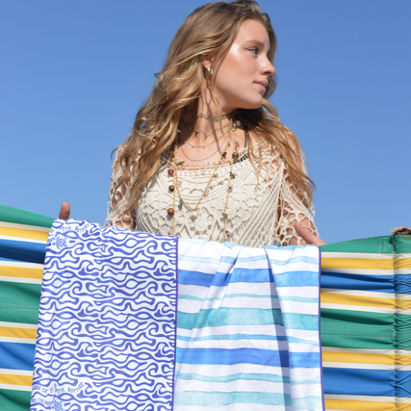 Win: een luxe en duurzaam strandlaken van SooBluu